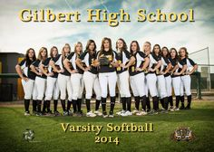 The softball team wanted to change things up a little bit from last year. They came at me with a picture they found on Pinterest. I wasn't really felling it, so I countered with this.