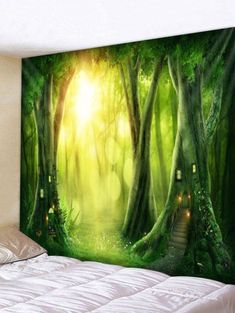 Home Improvement Custom 3d Photo Wallpaper Bamboo Forest Nature Landscape Large Wall Painting Living Room Sofa Bedroom Wall Decor Mural Paper 3d Promoting Health And Curing Diseases