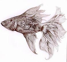 betta fish by Azanaya.deviantart.com on @deviantART