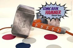 Avengers party bags - Thor hammers