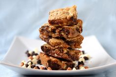 Basic Blondies - You can make them using one bowl! Nice and easy