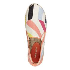 Patterned Noney Espadrille Slip On Sneakers   Nine West