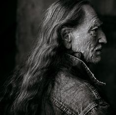 Willie Nelson - Photographed by Annie Leibovitz