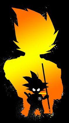 Animes Wallpapers, Cute Wallpapers, Goku Wallpaper, Mobile Wallpaper, Goku Pics, Goku Drawing, Anime Art, Kid Goku, Thundercats