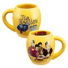 The Beatles Yellow Submarine 18 oz Ceramic Oval Mug