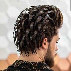 Cool Haircuts, Hairstyles Haircuts, Haircuts For Men, Trendy Hairstyles, Medium Hairstyles, Wedding Hairstyles, Curly Hair Cuts, Curly Hair Styles, Haircut Fails
