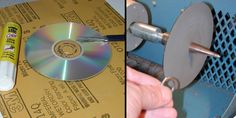 CD's make great sanding surfaces. Glue the CD to the back side of your sanding paper and cut it out. When placed on a polishing spindle, it makes a perfectly flat sanding surface.