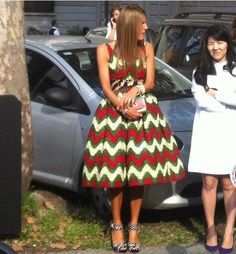 Thanks to Anna Dello Russo wearing a #stellajean dress at Marni fashion show! #mfw #metissage