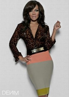 Wendy Raquel Robinson-super cute outfit