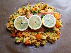 Lachs-Couscouspäckchen, ein beliebtes Rezept aus der Kategorie Reis/Getreide. Bewertungen: 1.061. Durchschnitt: Ø 4,6.