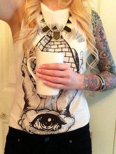 Sleeved blond. #tattoo #tattoos #ink