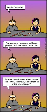 54 Best Tarot Humor images in 2019   Tarot, Tarot cards