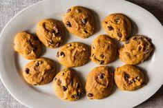 Soft Pumpkin Chocolate Chip Cookies by Merrill Stubbs