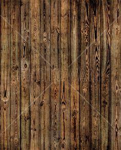 Wooden Plank Wall - Burned - Fototapeter & Tapeter - Photowall