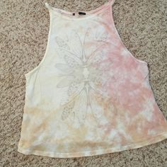 Truly madly deeply tank top. Truly madly deeply dragonfly wings tie dye tank top. Urban Outfitters Tops Tank Tops
