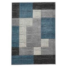 This Matrix rug from Think is hand carved, emphasising the modern, smart cubic design. Stylish and great value, this Matrix rug in blue will make an amazing addition to any home. Bohemian Bedding, Rustic Bedding, Chic Bedding, Grey Bedding, Verona, Target Rug, Simple Bed, Matrix, Diy Home Decor On A Budget