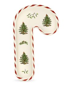 Christmas Tree Peppermint Candy Cane Tray