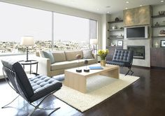 Modern Living Room Entertainment Center Design, Pictures, Remodel, Decor and Ideas - page 26