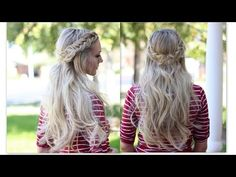 How to: Double Dutch Fishtail Braid - YouTube video tutorial