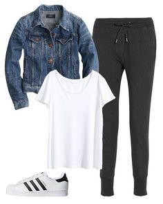 comfy airport outfit