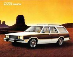 1978 Ford Fairmont Squire Station Wagon