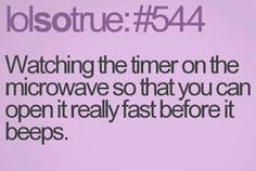 Microwave timer