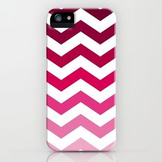 Pink Ombre Chevron iPhone Case by Go To Design Ipod Cases, Cute Phone Cases, Mobile Phone Cases, Iphone Case, Chevron Phone Cases, Cute Cases, Cute Pins, Pink, Cover