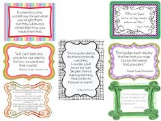Classroom Freebies: Need Inspiration?
