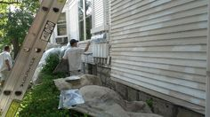 Does the exterior of your home need some scraping, sanding, or repair work? Well we are here for all of your prep and painting needs!