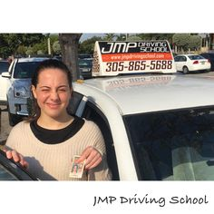 Another happy and satisfied customer who got the #license with #jmpdrivingschool. #drivingschool #drivinglessons #Miami