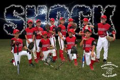 baseball team pictures ideas | ... the background and added the team name and effects for a team banner