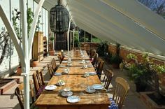 Like the idea of an outdoor event, exposing raw materials