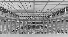 Stuttgart Municipal Library. Photo by Manuela Martin