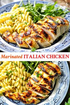 This Marinated Italian Chicken is the only grilled chicken recipe that you will ever need! It's an easy and healthy dinner recipe with just 5 ingredients! Grilled Chicken Breast Recipes, Grilled Chicken Brest, Easy Healthy Chicken Recipes, Grilled Italian Chicken, Italian Chicken Breast, Marinated Chicken Recipes, Italian Chicken Recipes, Grilled Steak Recipes, Healthy Chicken Dinner