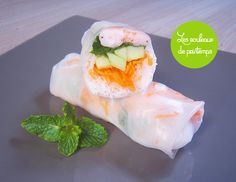 French - but there are pictures - fresh spring rolls recipe