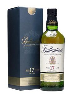 BALLANTINE'S 17 YEARS OLD.  Full-bodied, with creamy vanilla notes, this is one of the best blends available anywhere. A testament to the art of the master blender, and fiercely championed by Jim Murray.  #whisky #whiskey £45.95