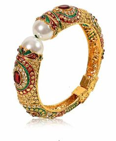 Gold & More Meenakari Colourful Bangle #kada #bangle