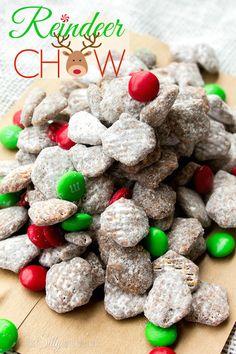 Reindeer Chow {Muddy Buddies}