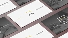 7+ Clean Business Card FREE MOCKUP [Download] on Behance