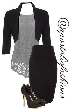 """""""Apostolic Fashions #1225"""" by apostolicfashions on Polyvore featuring Phase Eight, Topshop and Dolce&Gabbana"""