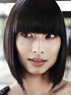 Hairstyles with bangs for medium hair 2013
