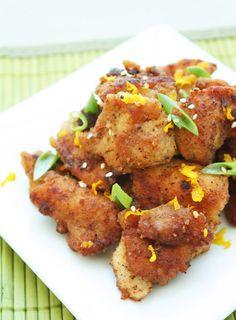 Low Carb Orange Chicken (Gluten Free) - I Breathe... I'm Hungry...