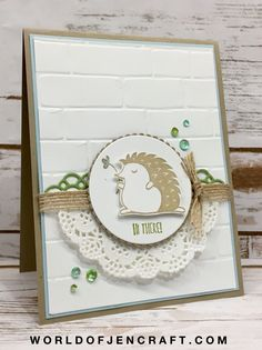 Stampin' Up! Hedgehugs – MFT 363