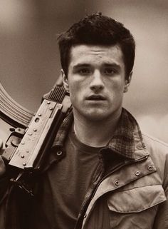 Josh Hutcherson. Oh my, he is absolutely perfect.