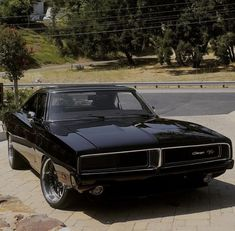 Fancy Cars, Cute Cars, Classy Cars, Sexy Cars, Dodge Charger Preto, 1969 Dodge Charger, My Dream Car, Dream Cars, Carros Vintage