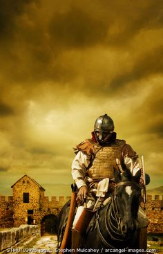 www.arcangel.com - a-late-roman-cavalry-officer-at-the-wall