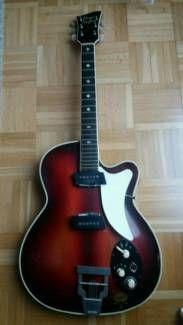 Hoyer PlayBoy Gitarre in Baden-Württemberg - Heilbronn   Musikinstrumente und Zubehör gebraucht kaufen   eBay Kleinanzeigen