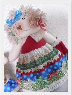 Detalhe Menina Noel....Projeto de Natal Alegria aos Pedaços........ | Flickr - Photo Sharing!