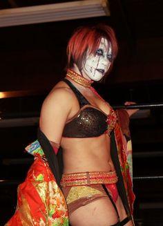 One of my favorite female Japanese wrestlers, Kana