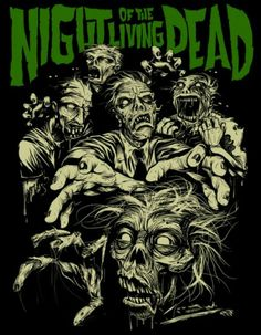 Night Of The Living Dead Horror Movie Zombies